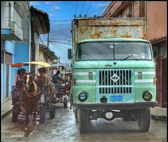 IFA LKW W50 auf Kuba
