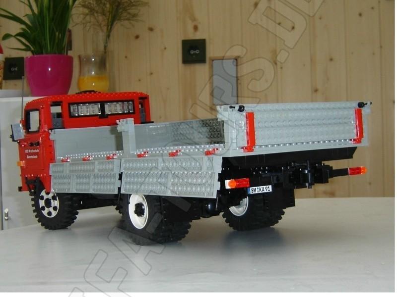 IFA LKW W50 aus Legosteinen