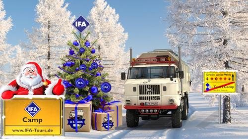 Der Weihnachtsmann fährt' nen großen Truck von Tom Astor.