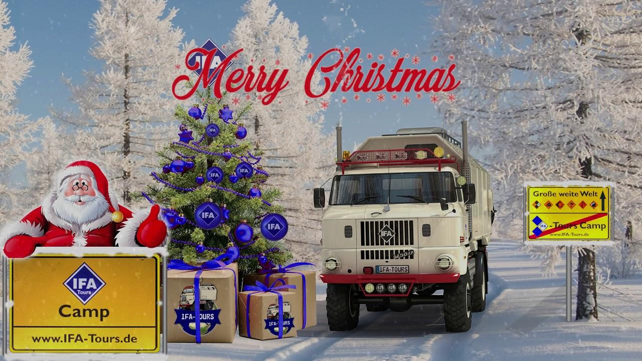 IFA-Tours Weihnachtsgrüße