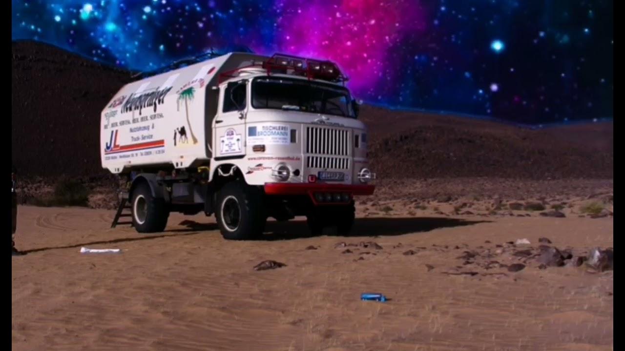 IFA LKW W50 LA/A/C in der Sahara