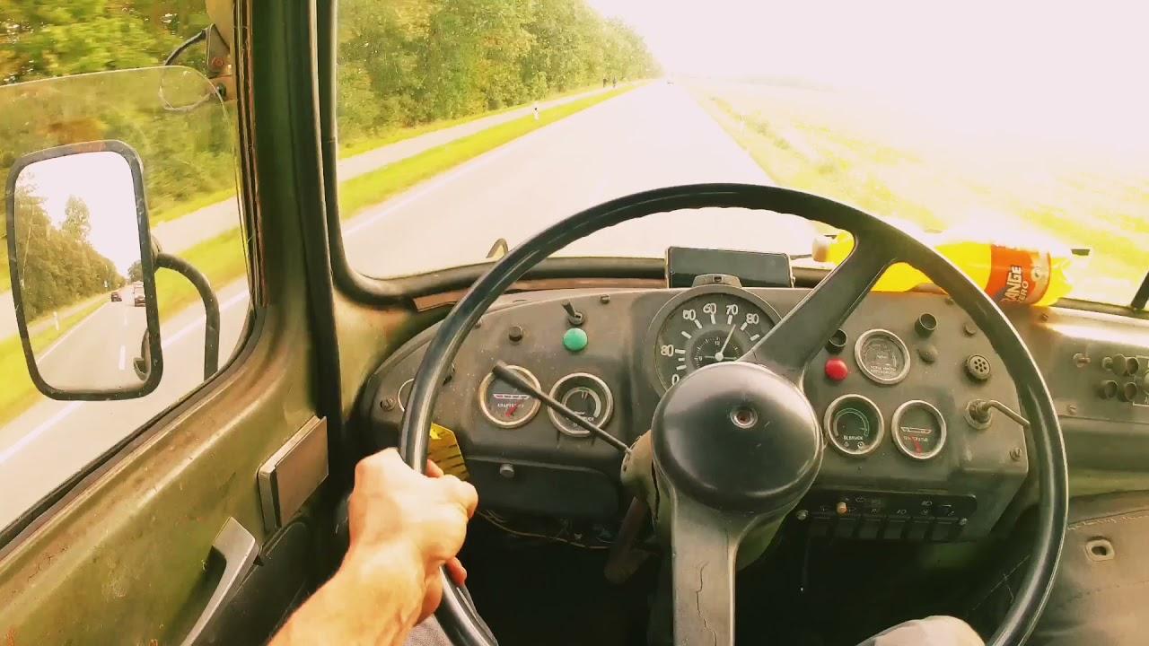 Überführung eines IFA LKW W50 - Puddingpanzer