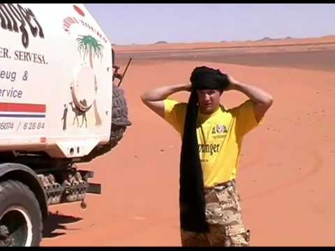 Unterwegs in der Sahara - On the way in Sahara