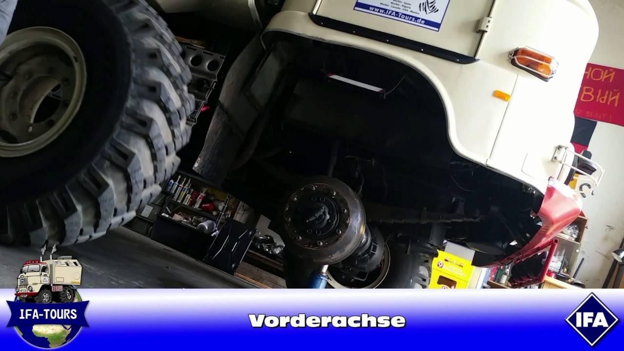 IFA Ифа W50 Bremsen einstellen