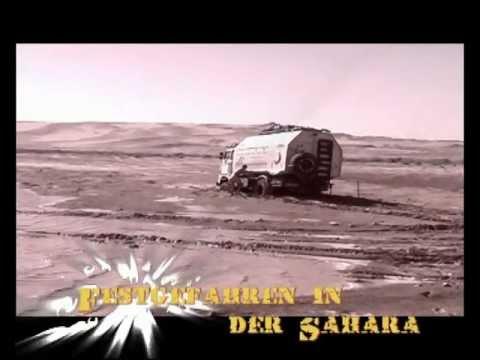 Festgefahren mit dem IFA W50 in der Sahara