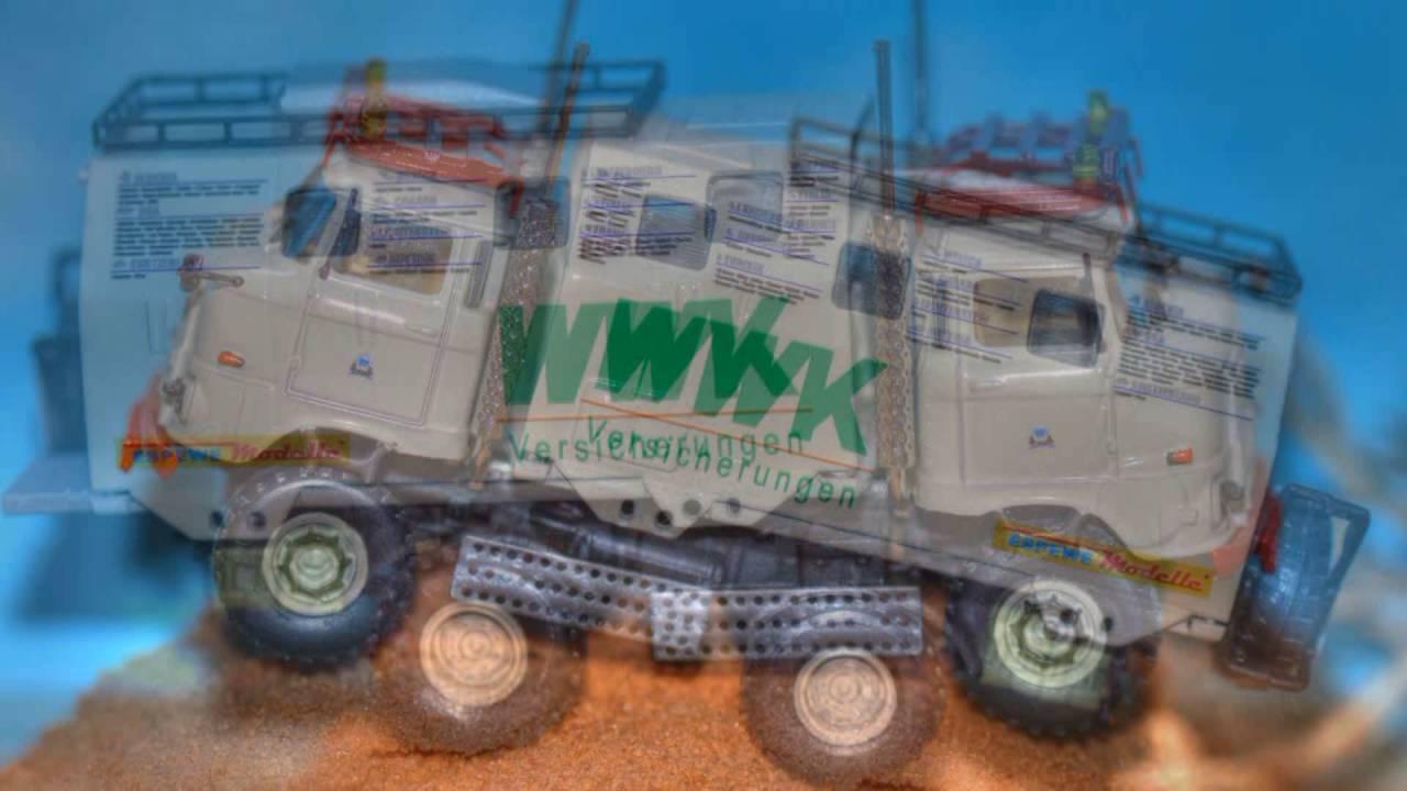 "IFA W50 Modell LA/A/C ""Expedition"" 1:87 von ESPEWE"