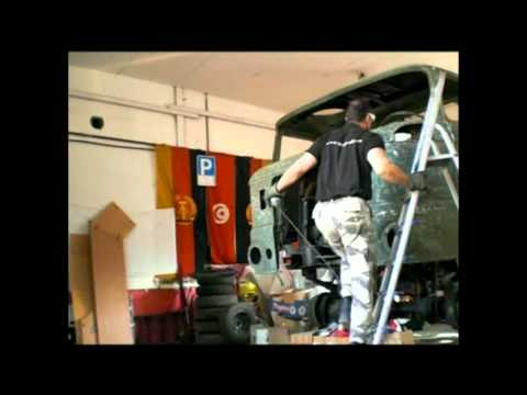 Die IFA Garage - Projekt IFA W50 Überholung - Dem Rost keine Chance - Teil 3