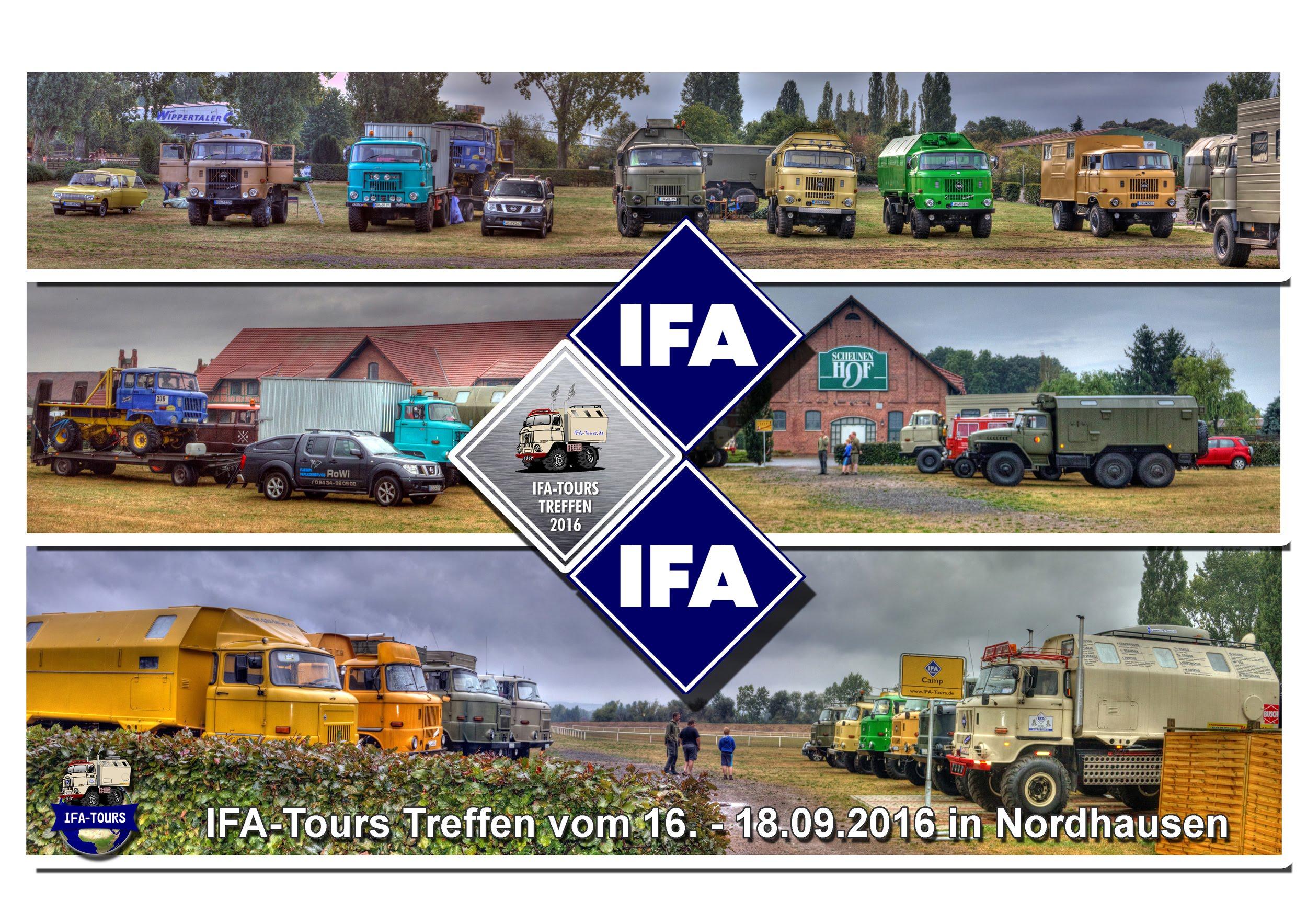 IFA-Tours Treffen 2016 Nordhausen - Fahrt zum Museum