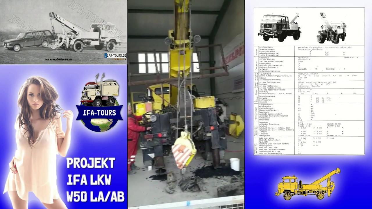 IFA LKW W50 LA/AB Inbetriebnahme nach über 10 Jahren Standzeit