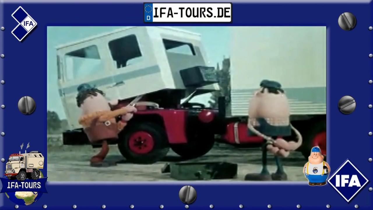 Der IFA Trucker und sein Werkzeug