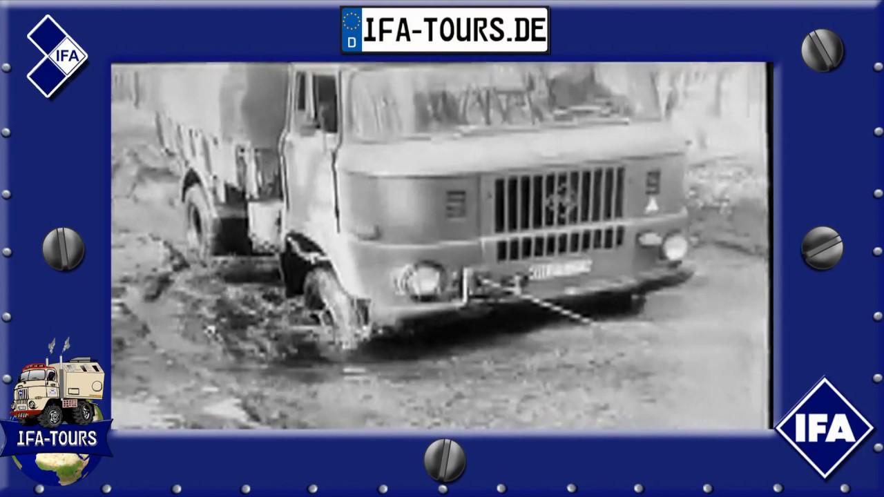 Neuheit - IFA LKW W50 LA in der Erprobung