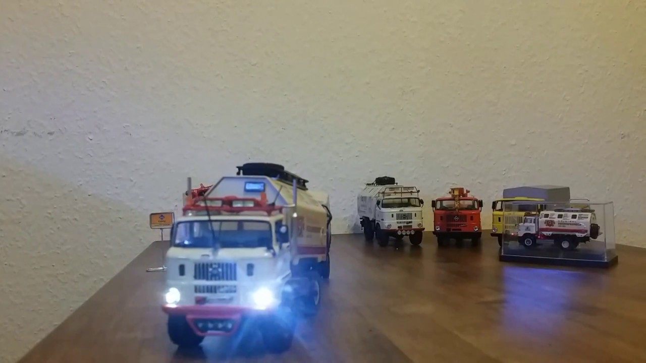 """IFA LKW W50 LA/A/C """"Expedition"""" 4x4 - RC Modell in 1:43"""