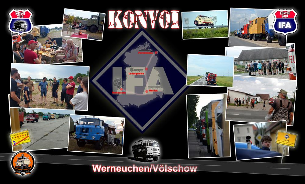 IFA Konvoi 2019 - Werneuchen / Völschow