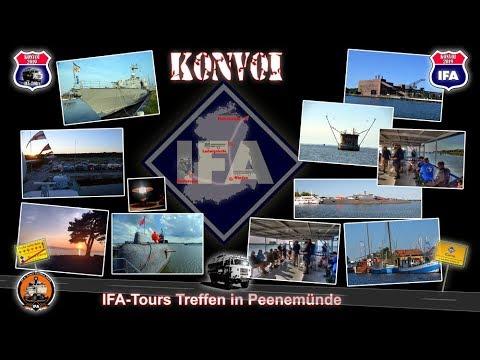 IFA Konvoi 2019 - IFA Tours Treffen Peenemünde