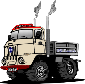 IFA W50 Kipper - Comic