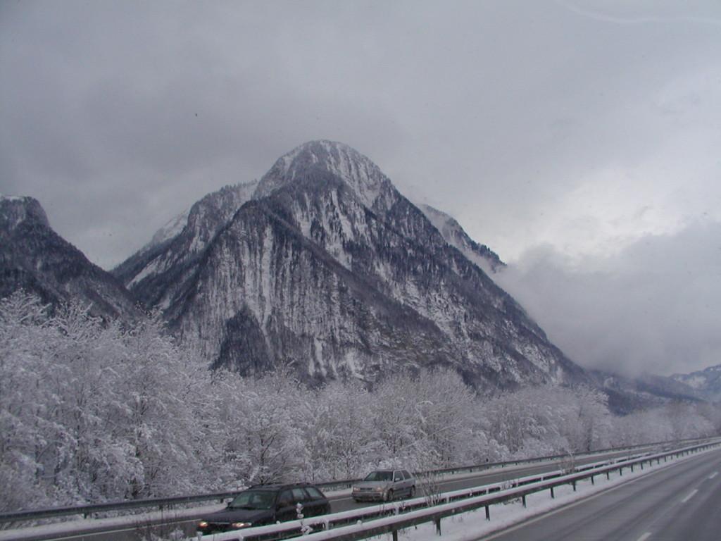 IFA W50 unterwegs in den Alpen