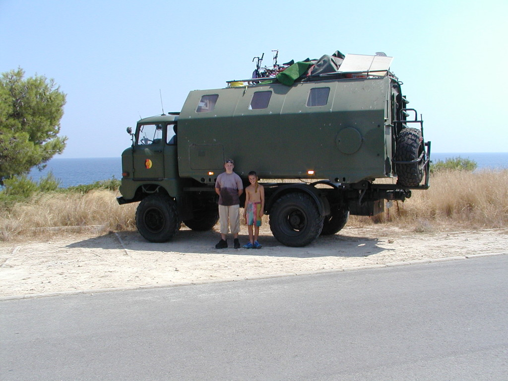 IFA W50 unterwegs in Spanien