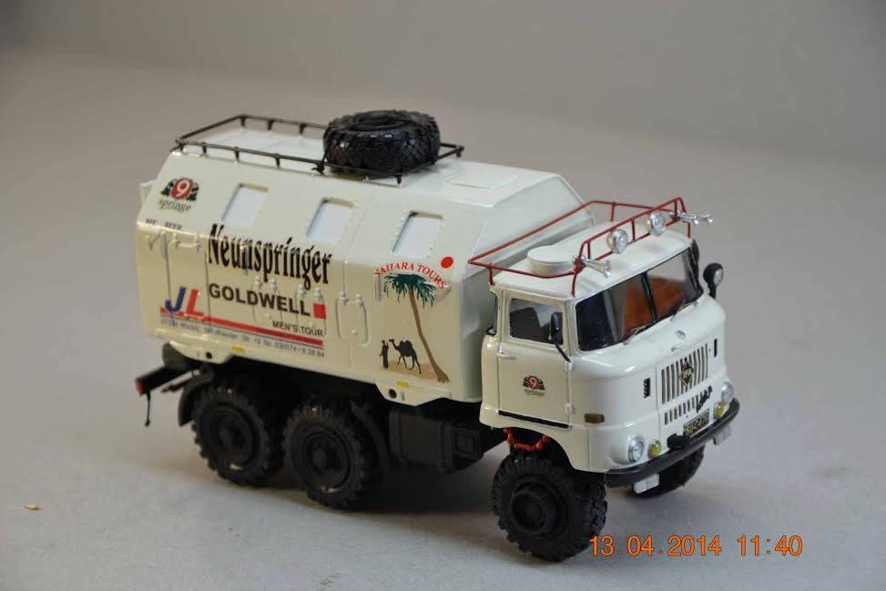 IFA W50 LKW 6x6 Modell in 1:42