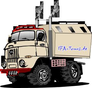 IFA W50 LA LAK Truck 4x4