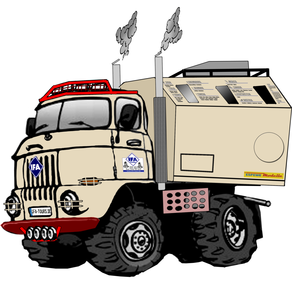 "IFA W50 LA/A/C LAK ""Expedition"" Comic"