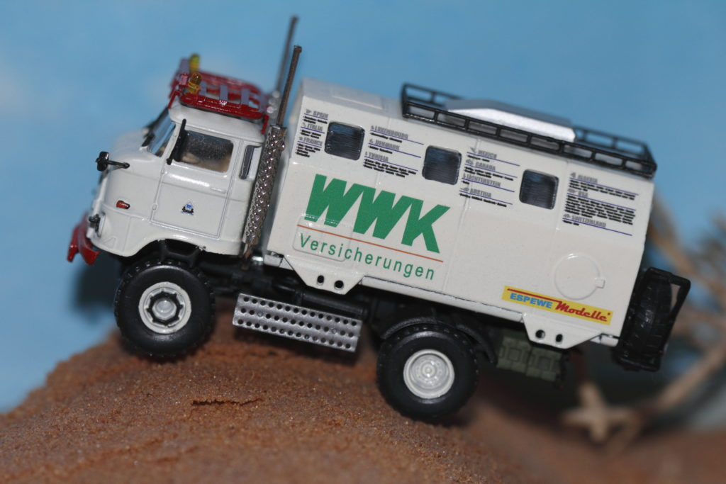 "IFA W50 LA/A/C ""Expedtion"" Modell in 1:87 ESPEWE"