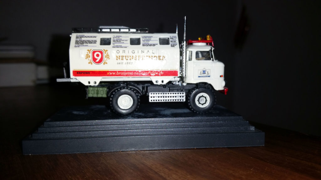 "Modell IFA LKW W50 LA/A/C ""Expedition"" in 1:87"
