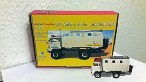 "IFA W50 LA/A/C ""Expedtion"" Modell in 1:87 mit Verpackung ESPEWE"