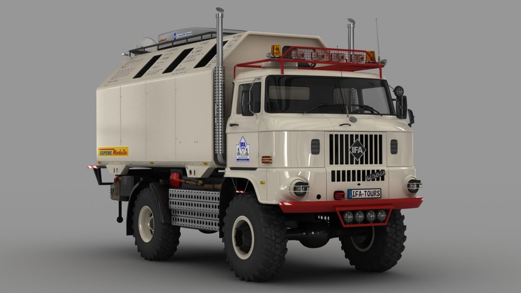 "LKW IFA W50 LA/A/C ""Expedition"""