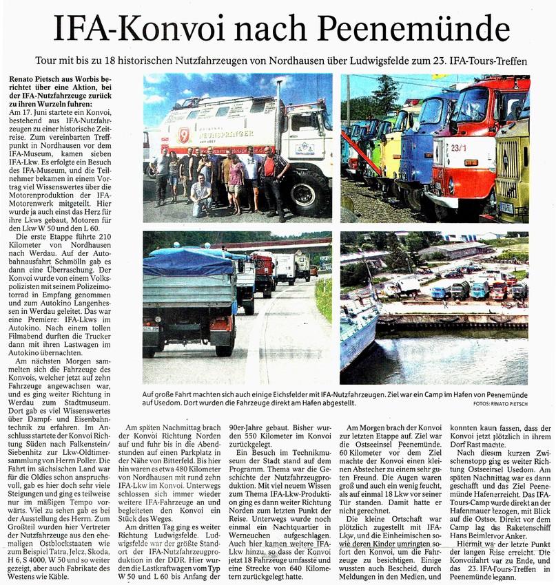 Thühringer Allgemeine 16.07.2019