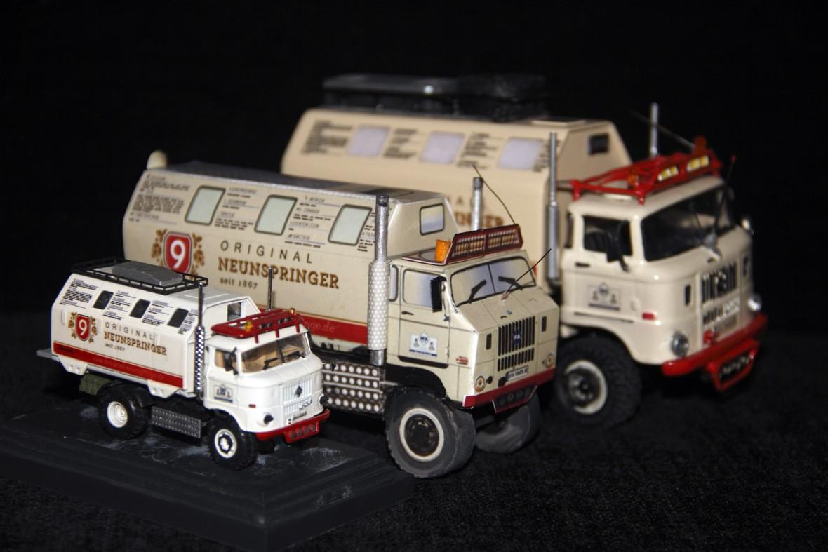 "Papiermodell IFA LKW W50 LA/A/C ""Expedition"""