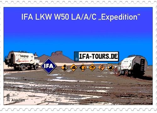 IFA Tours Briefmarke