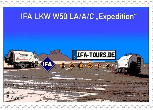 IFA Tours Briefmarke