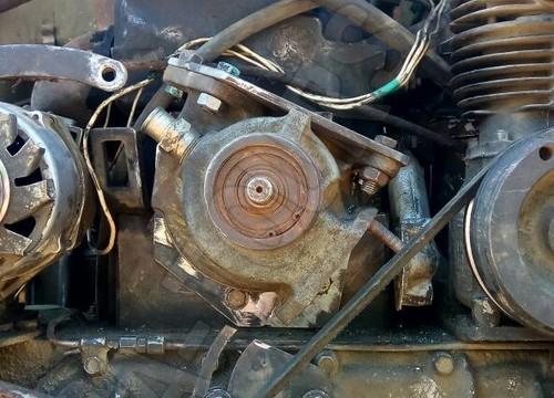 IFA W50 Motor im Sil  - Двигатель IFA W50 в Sil