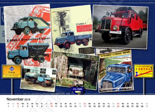 IFA-Tours Kalender 2019
