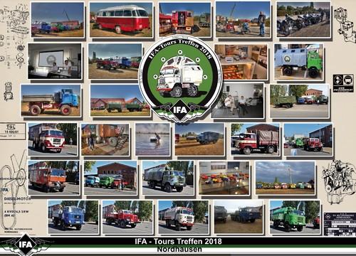 IFA - Tours Treffen 2018 - Collage