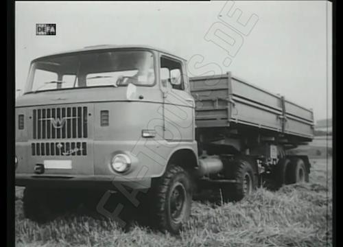 IFA LKW W50 Prototyp - Allrad mit Sattelauflieger