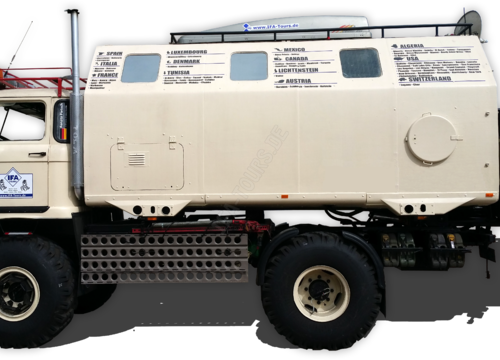 """IFA LKW W50 LA/A/C """"Expedition"""" 4x4 im Jahr 2015"""