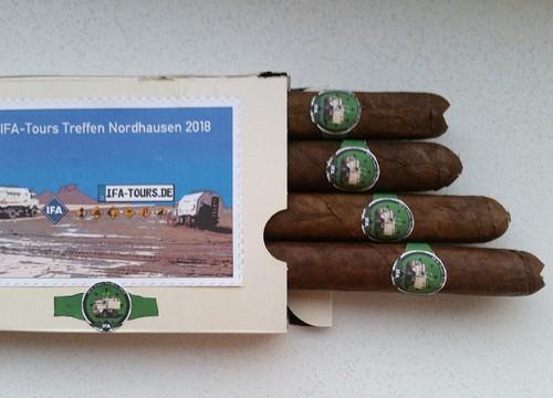 Zigarren zum IFA-TOURS Treffen 2018