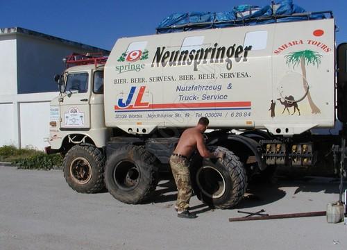 IFA-Tours Saharadurchquerung 2003