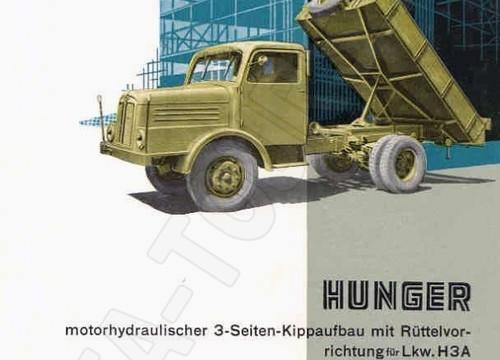 IFA LKW H3A Kippfahrzeug