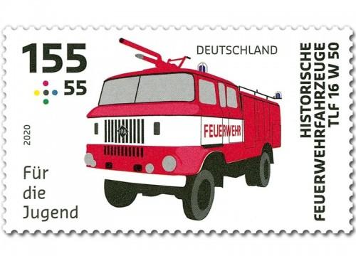 IFA LKW W50 - Briefmarke
