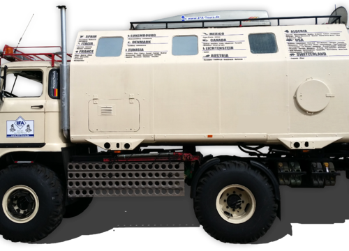 """IFA W50 LA/A/C """"Expedition"""""""