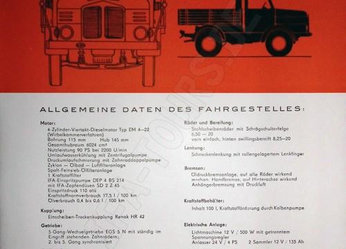 IFA LKW S4000 - 1 Z Zugmaschine