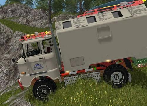 IFA LKW  W50 LA / A / C  Expedition  im Computer Game