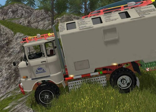 IFA LKW  W50 LA / A / C  Expedition  im Computer Game