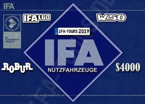 IFA - LKW Kalender 2019