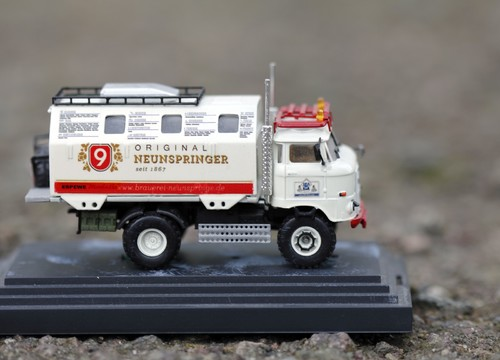 "IFA LKW W50 LA/A/C ""Expedition"" in 1:87"