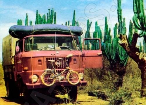 IFA LKW W50 auf Testfahrt in Mexiko