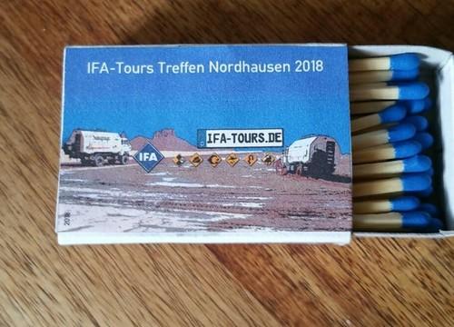 IFA-Tours Streichhölzer