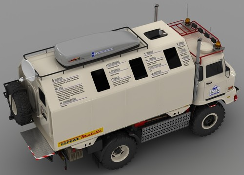 """IFA LKW W50 LA/A/C """"Expedition"""" in 3D"""